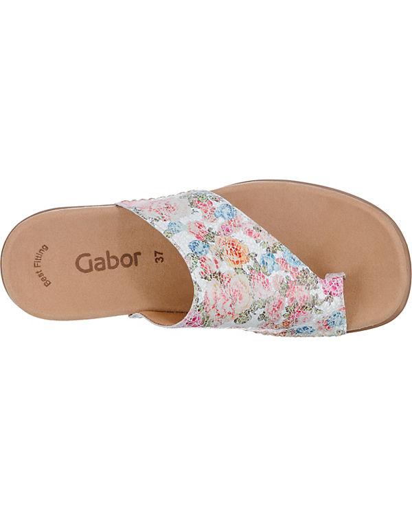 Gabor Gabor Pantoletten weiß Modell 1