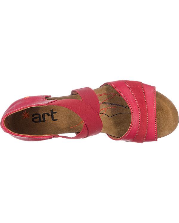 *art *art I Meet Sandaletten rot
