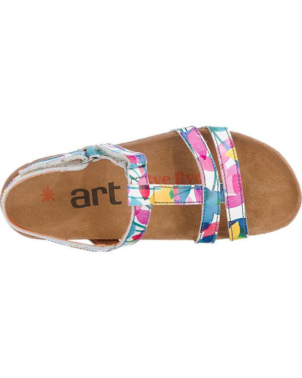 *art *art I Breathe Sandalen mehrfarbig