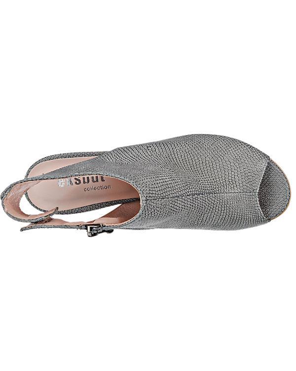 Eksbut Eksbut Sandaletten grau