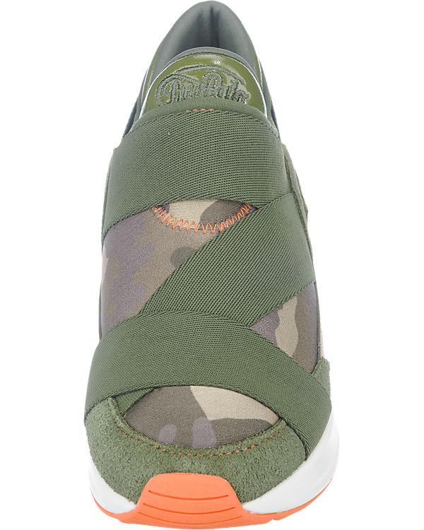 BUFFALO BUFFALO Sneakers dunkelgrün