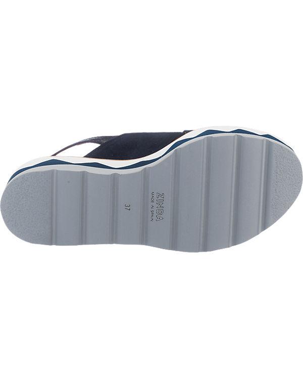Zinda Zinda Sandaletten blau