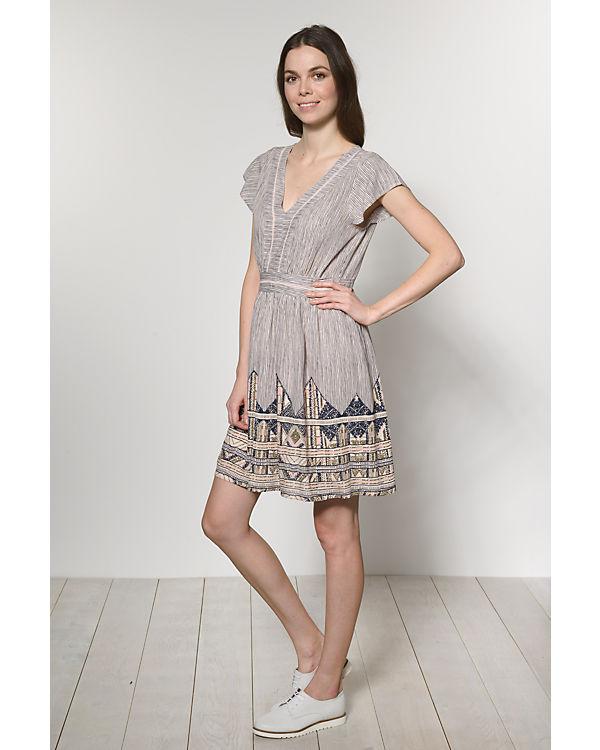 VERO MODA Kleid beige/blau
