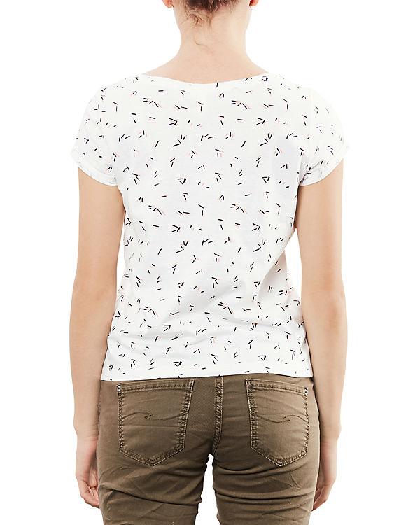 Q/S T-Shirt ecru