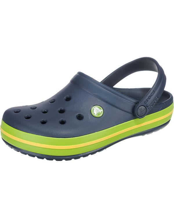 crocs Crocband Clogs blau-kombi