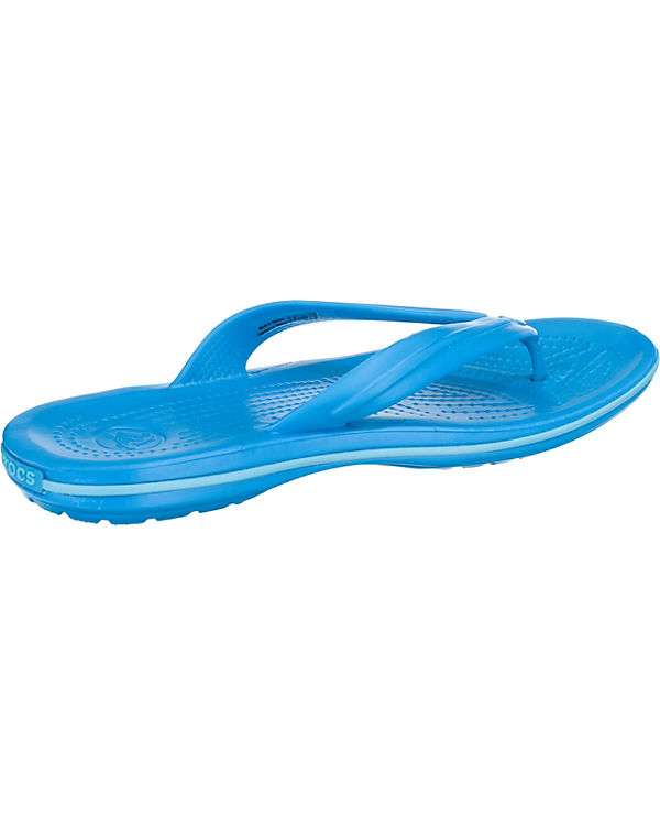 crocs, crocs, crocs, Crocband Flip Zehentrenner, blau f6b60d