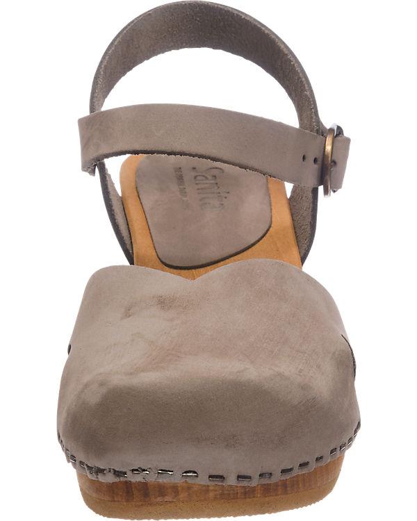 Sanita Sanita Matrix Sandaletten beige