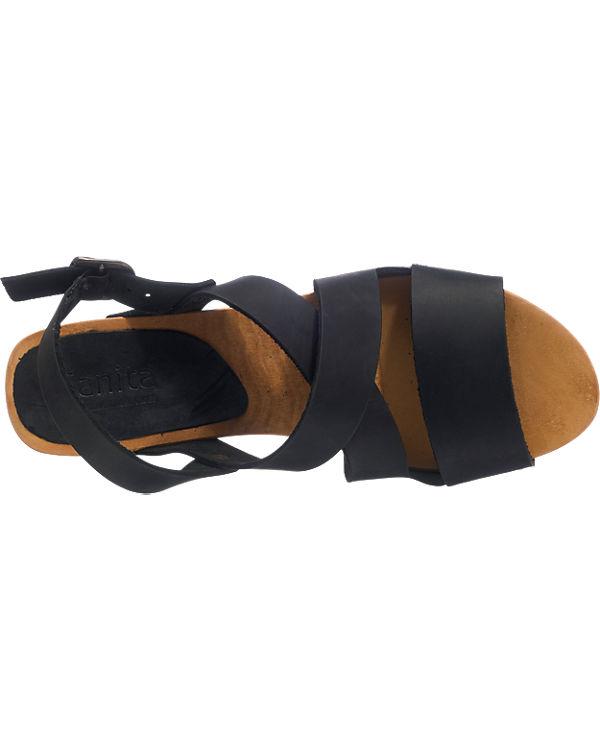 Sandaletten Sanita schwarz Sanita Olympia Sanita Sanita SITwvx07Iq