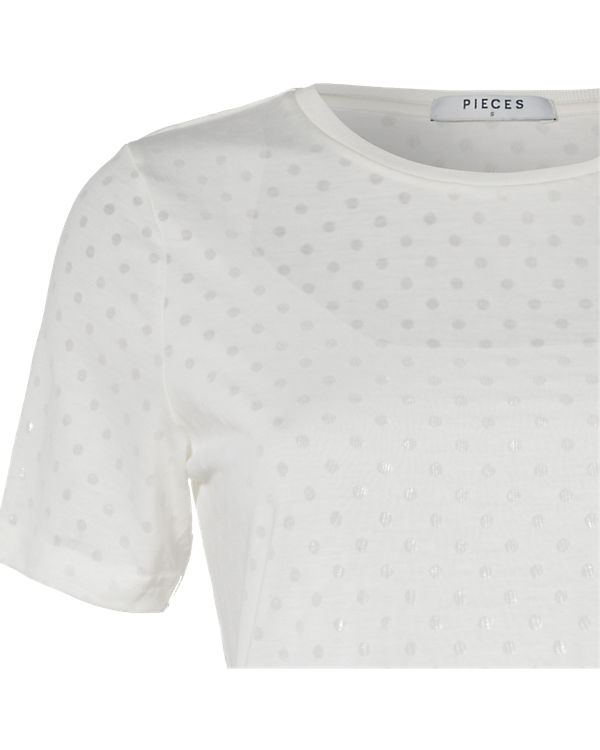pieces T-Shirt offwhite
