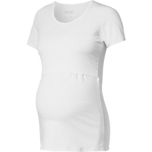 boob Stillshirt Classic weiß Damen Gr. 38