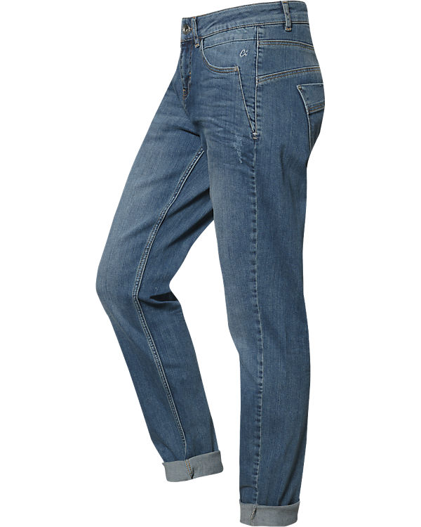 Identity Casual Jeans Slim blau Comma STqFw77P