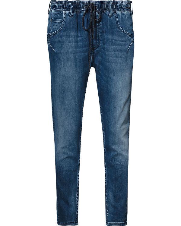MUSTANG Jog Jeans blau