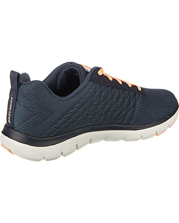 SKECHERS dunkelgrau Low Free Break Sneakers 2 Appeal 0 Flex R1BRrq