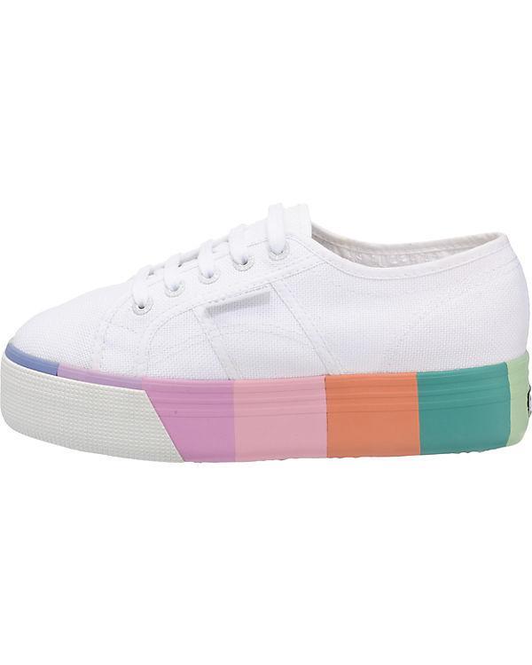 Superga®, 2790 Cotmultifoxingw Cotmultifoxingw 2790 Sneakers Low, weiß 382f09