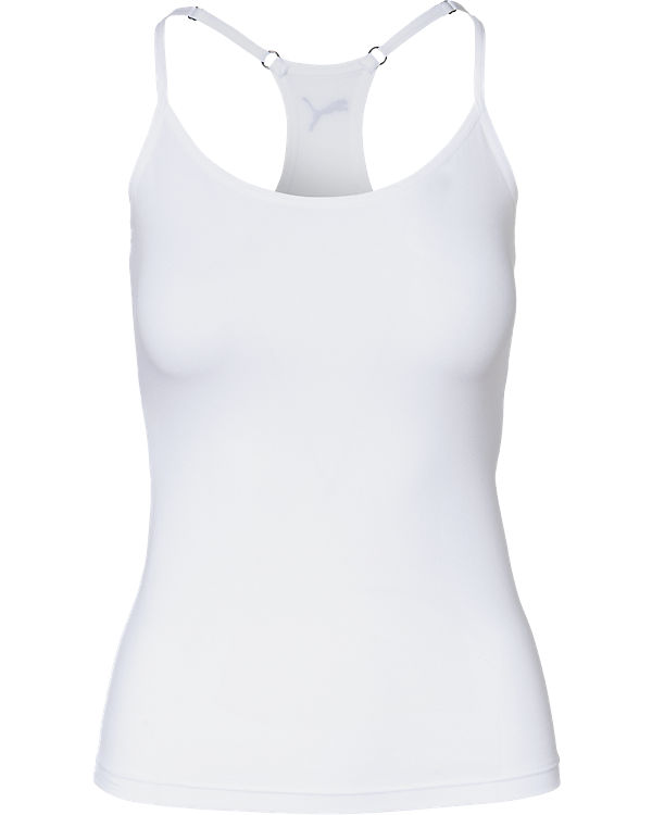 PUMA BODYWEAR Top weiß