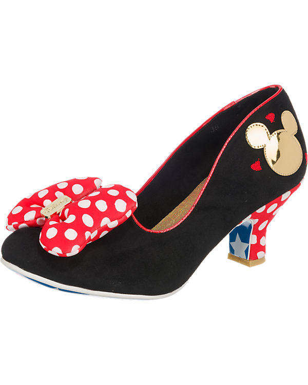 Irregular Choice Irregular Choice Mickey Mouse - Classic Minnie Pumps schwarz-kombi