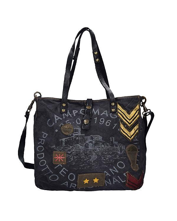 Campomaggi Campomaggi Olmo Shopper Tasche 39 cm schwarz