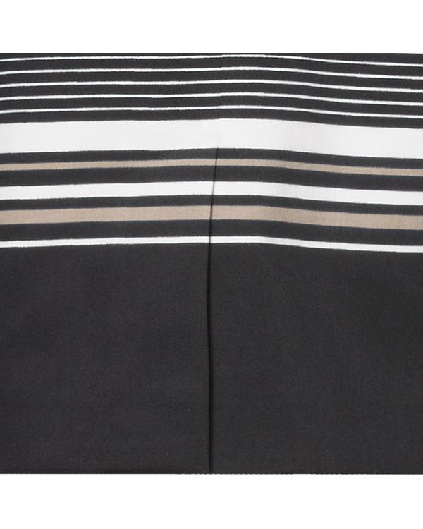 s.Oliver BLACK LABEL Bleistiftrock schwarz/weiß