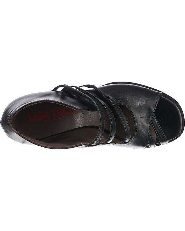 LISA TUCCI, RICCIA Klassische Klassische RICCIA Sandaletten, schwarz 19702a