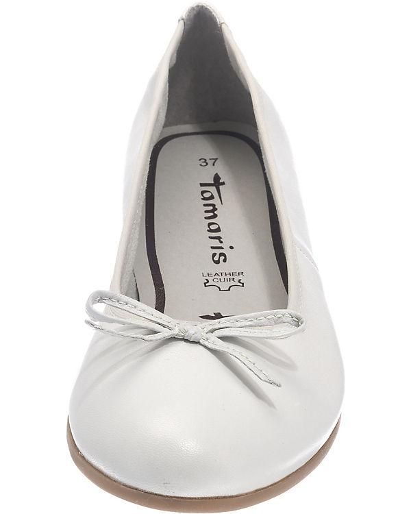 Tamaris Tamaris Ballerinas weiß