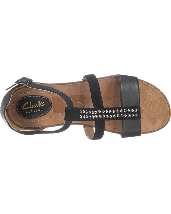 Clarks Clarks Autumn Fresh Sandaletten schwarz-kombi