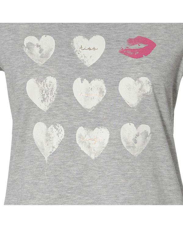 ESPRIT T-Shirt hellgrau