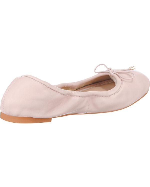 BUFFALO Faltbare Ballerinas nude