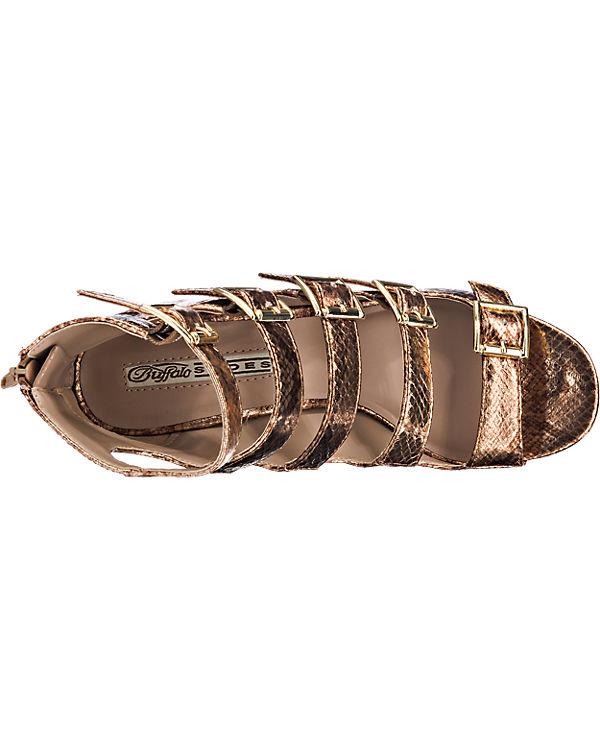 BUFFALO BUFFALO Sandaletten bronze