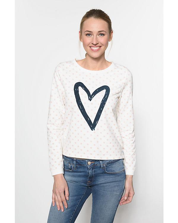 ONLY Sweatshirt offwhite Echt IBxlsE3