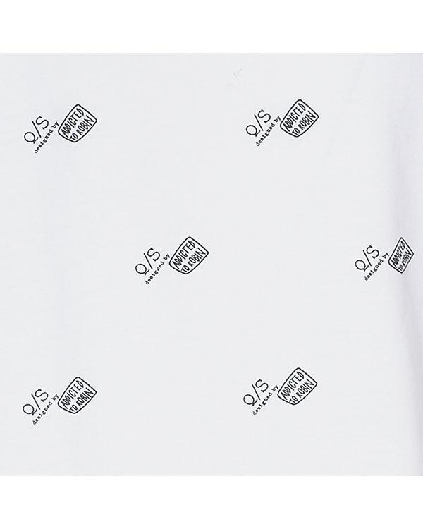 Q/S T-Shirt Robin Schulz Collection weiß