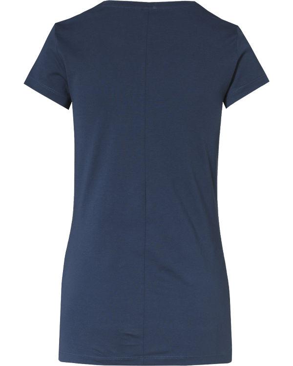 Q/S T-Shirt dunkelblau