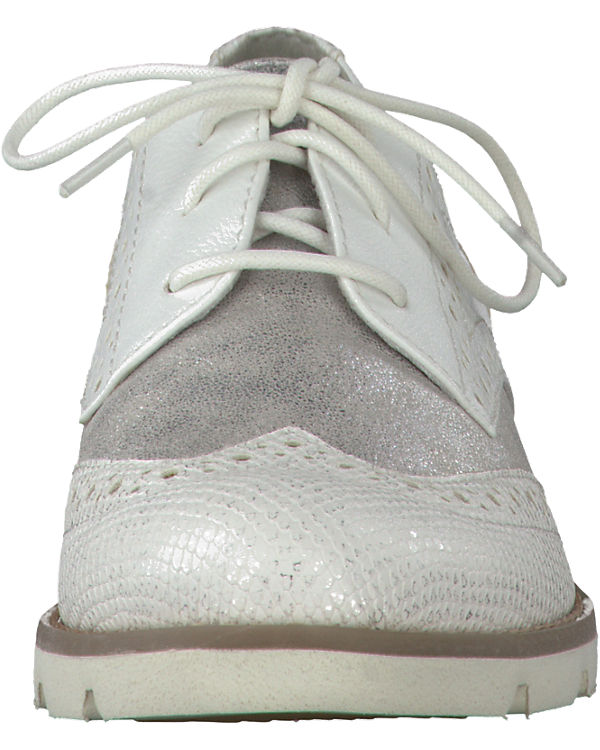 s Oliver kombi Oliver s Halbschuhe weiß PgRq4OwT