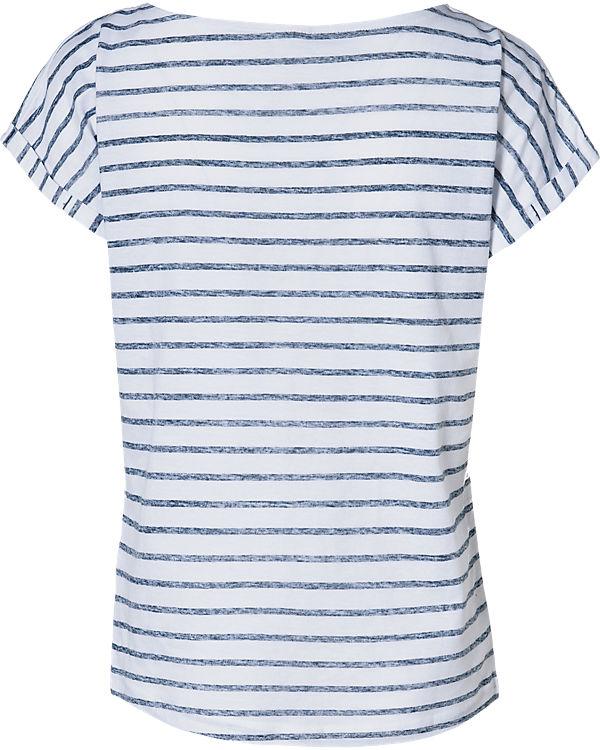 EMOI T-Shirt blau/weiß