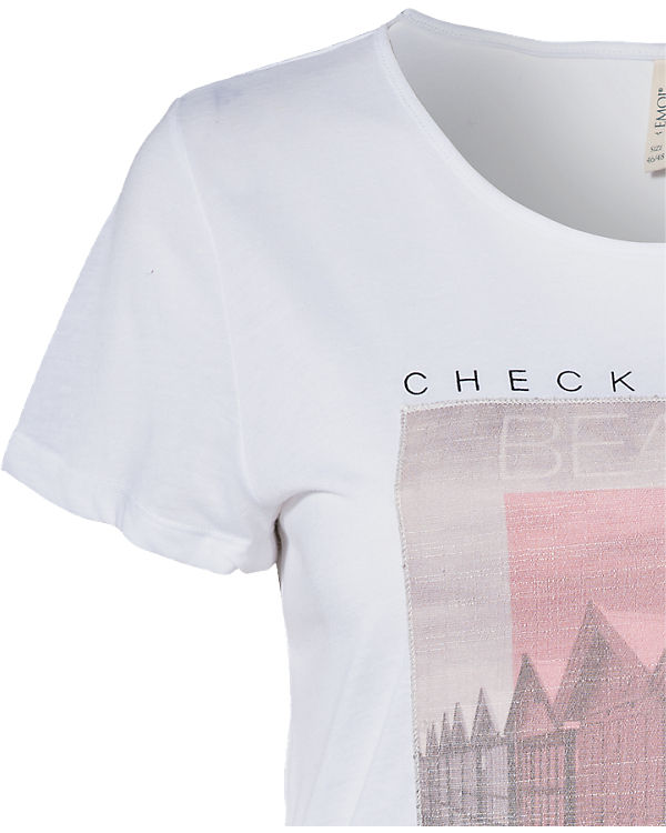 EMOI en plus T-Shirt weiß