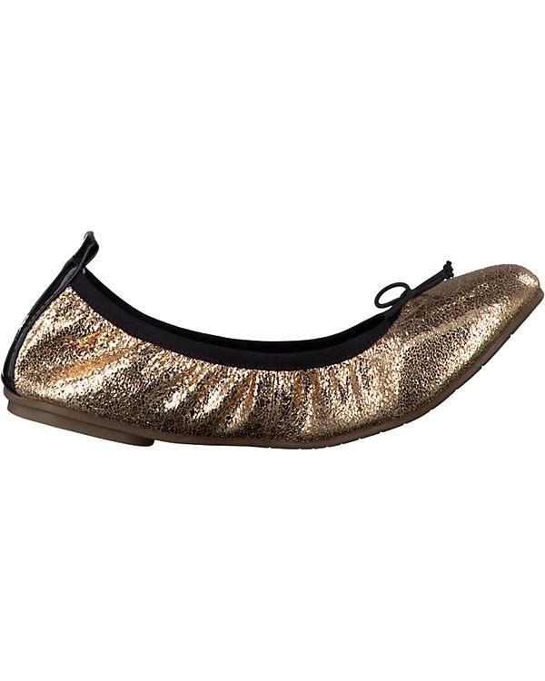Tamaris Tamaris Valenttie Ballerinas gold