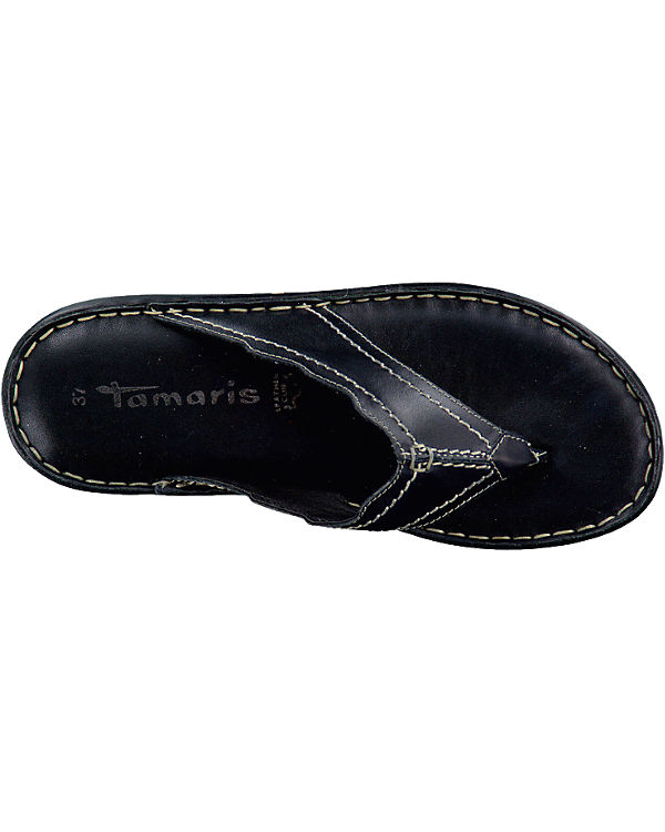 Tamaris Tamaris Chiesa Pantoletten schwarz