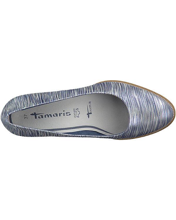 Tamaris Tamaris Fee Pumps silber