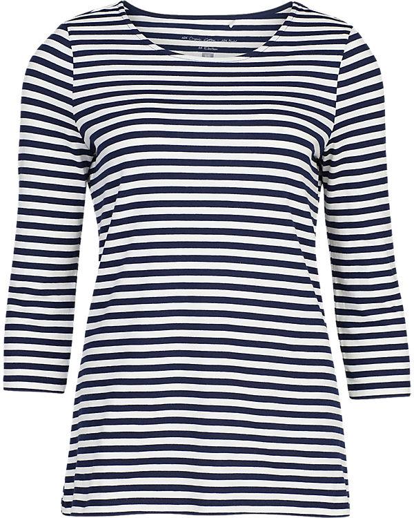 WE Fashion 3/4-Arm-Shirt blau