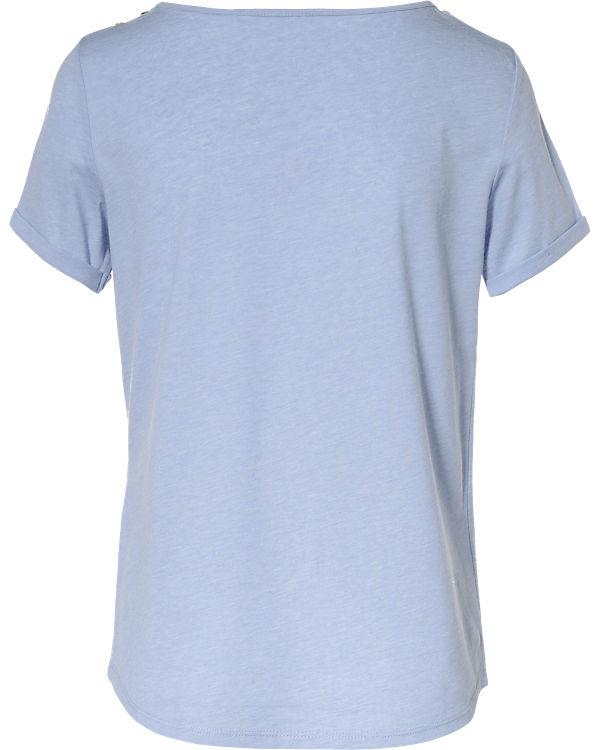 edc by ESPRIT T-Shirt blau