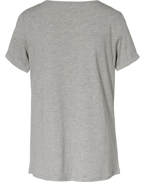 edc by ESPRIT T-Shirt grau