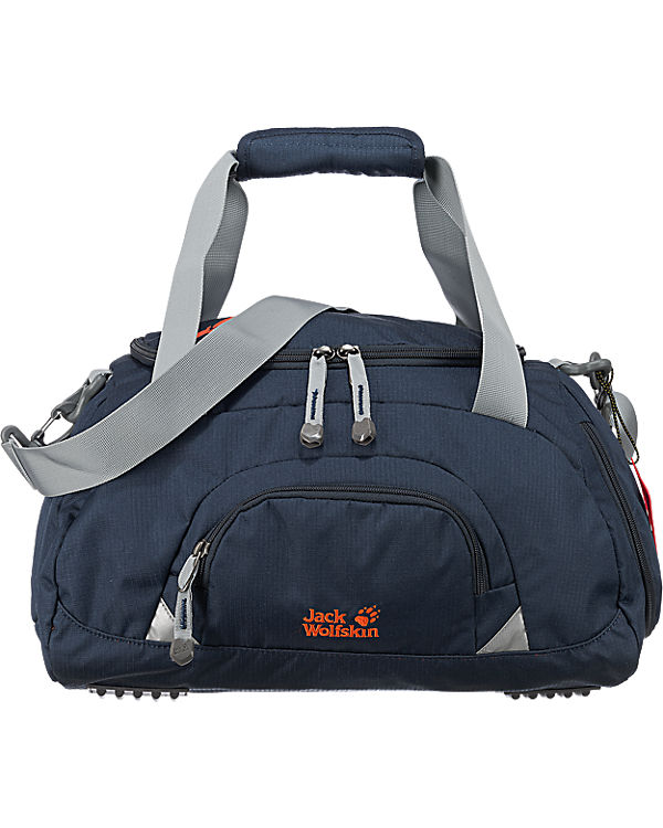 jack wolfskin kinder sporttasche rockpoppy 25l blau. Black Bedroom Furniture Sets. Home Design Ideas