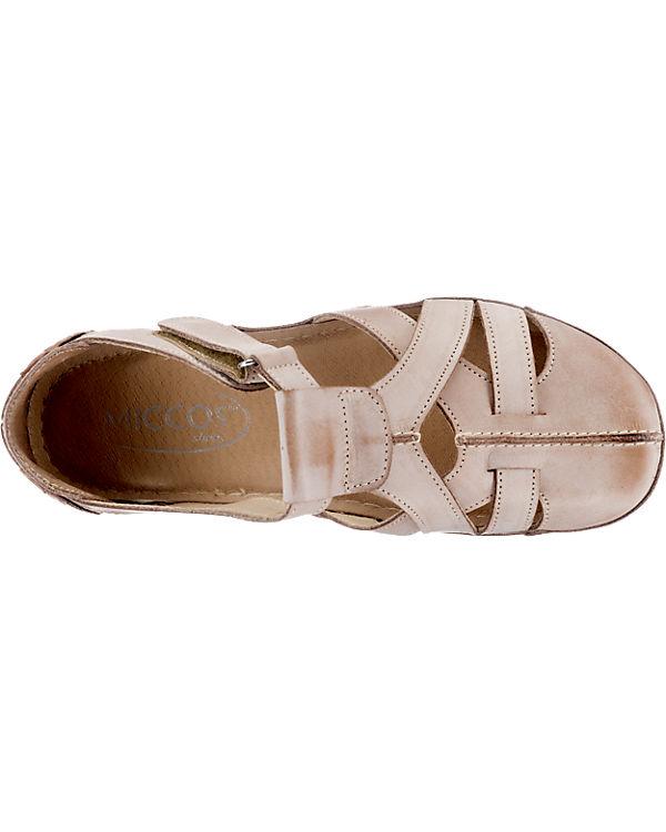 Miccos Miccos Sandaletten creme