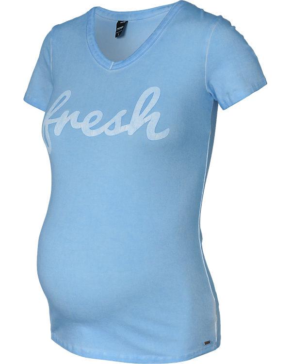 LOVE2WAIT Umstandsshirt Fresh blau