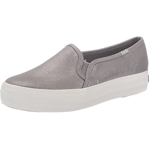 Keds Triple Decker Sneakers silber Damen Gr. 39