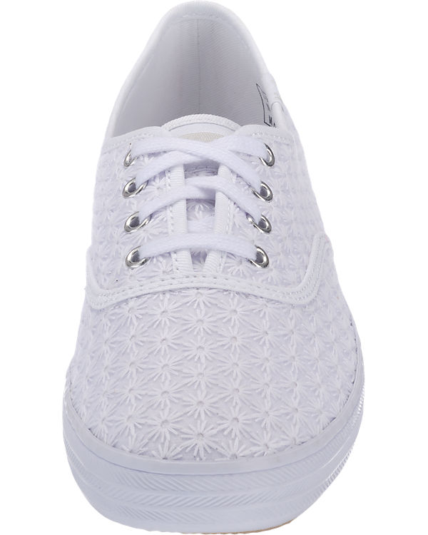 Keds Keds Champion Mini Daisy Crochet Sneakers weiß