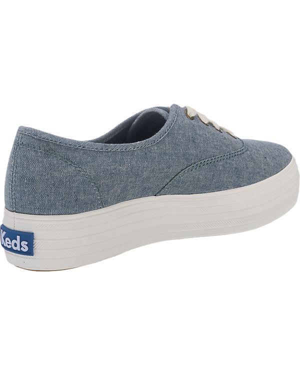 Chamb Keds dunkelblau Sneakers Triple Season Keds ta4UWFqwt6