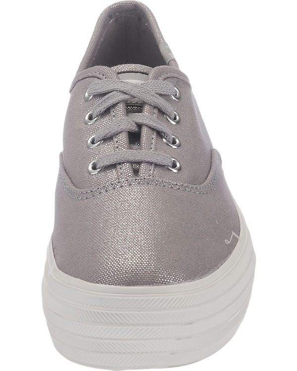 Sneakers Keds Metallic Keds Canvas silber Triple Iqw7qC6