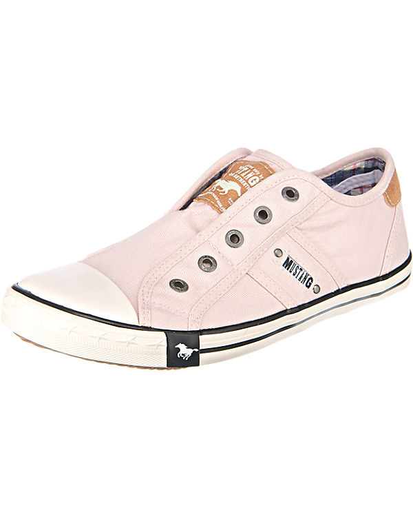 Low MUSTANG rosa MUSTANG Sneakers Sneakers tvRfqcqU