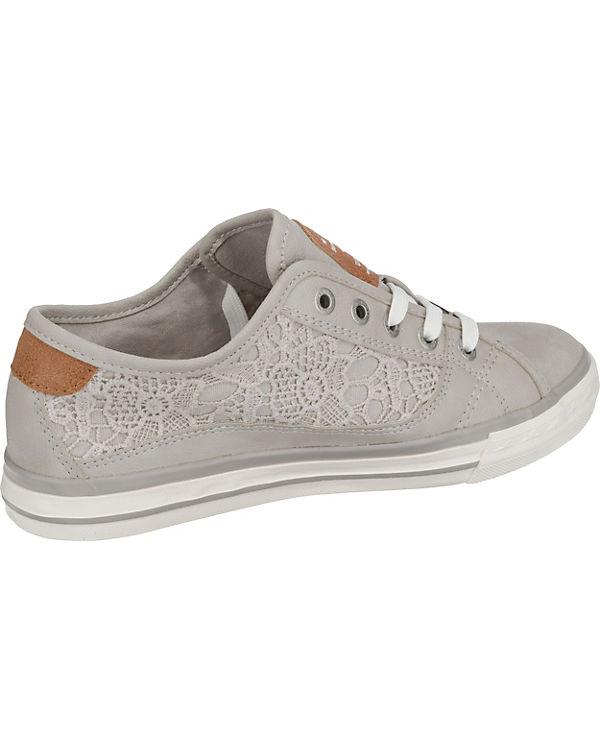 Verschleißfestigkeit Günstig Kaufen MUSTANG Sneakers Low hellgrau Frei Versendende Qualität Niedriger Preis Rabatt Niedriger Versand IX8Gu