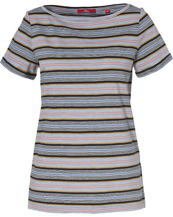 s dunkelblau s T Shirt Oliver Oliver R6Sqw6